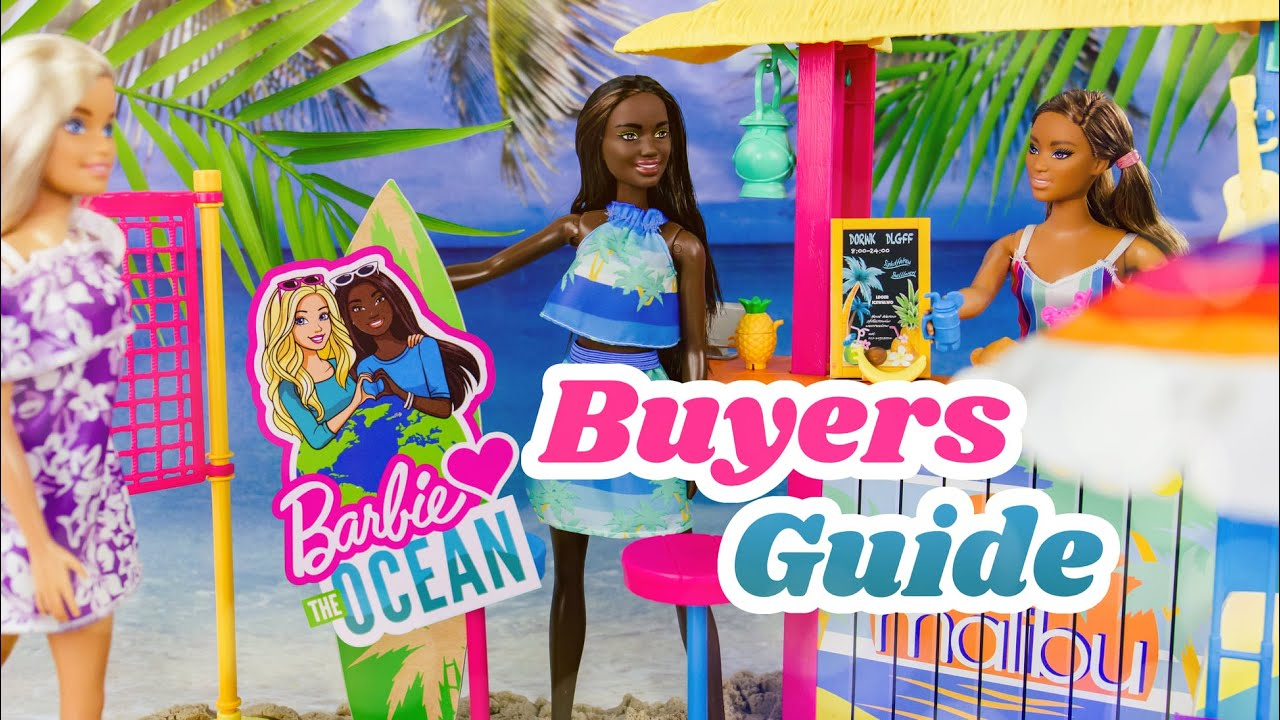 Unbox Daily: ALL NEW Barbie Loves the Ocean Dolls & Play Sets | Buyers Guide