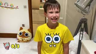 Фото Прятки со страшным клоуном от Макс и Катя