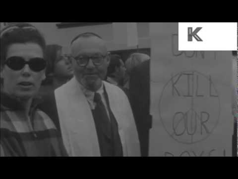 1960s San Francisco Anti Vietnam War Peace Protest
