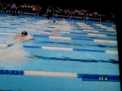 Bejing Olympics-- Mens 100 Meter Breaststroke - YouTube
