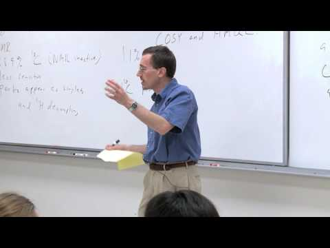 Chem 125. Advanced Organic Chemistry. 28. 13C NMR Spectroscopy. Introduction to 2D NMR. COSY & HMQC.