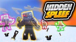 Minecraft: Hidden Spleef! (Funny Moments)