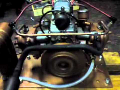 Coventry Victor M02 Marine flat twin engine