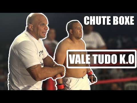 Chute Boxe Vale Tudo KO Fabio Silva (Sengoku K-1 Heros Veteran) Nação Cyborg FN 1 Colombo Brazil