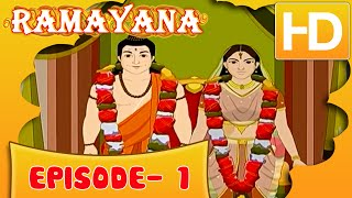 Ramayan Short Story For Kids | Ramayan in Hindi | Animated Cartoon Story For Kids Ep 1 | Kahaniyaan