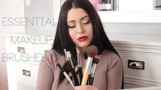 Essential Makeup Brushes - Beginners 101 - High End vs. Drugstore Comparisons & Dupes ♡