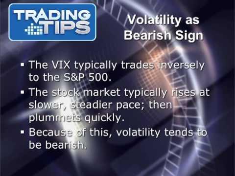 Volatility As A Predictive Indicator