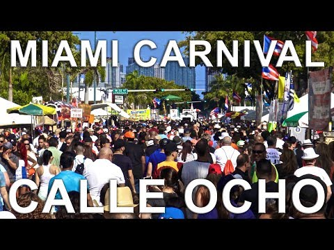 Miami Carnival Calle Ocho 2017