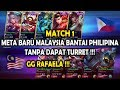 GG META BARU MALAYSIA !!! PHILIPINA TAK DAPAT TURRET !!! MALAYSIA VS PHILIPINA - ARENA CONTEST