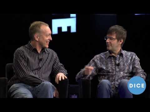 Cerny Games' Mark Cerny, Raw Thrills' Eugene Jarvis, Zynga's Mark Turmell - D.I.C.E. 2014 Summit