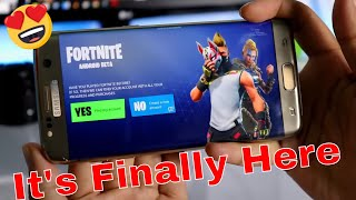 How To Download Fortnite On Android Officially | 😱🔥😱 Official Fortnite