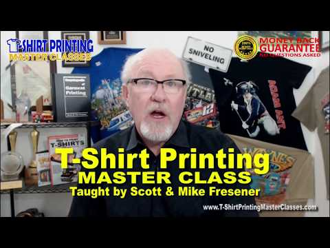 Learn How to Print T-Shirts - Master Class