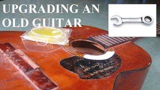 Cải tiến đàn guitar cũ - Hướng dẫn guitar ABC