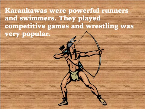 Texas Indians: The Karankawas