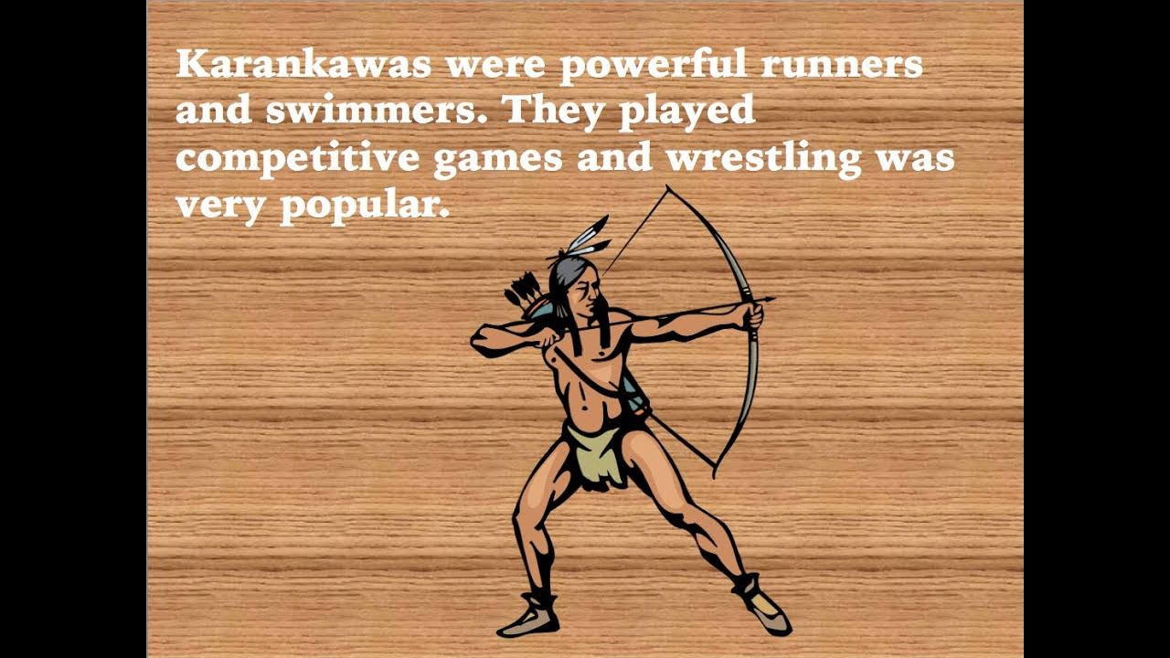 texas indians: the karankawas - youtube