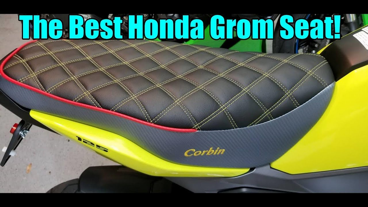 Corbin Seat Unboxing for my 2018 Honda Grom! - YouTube