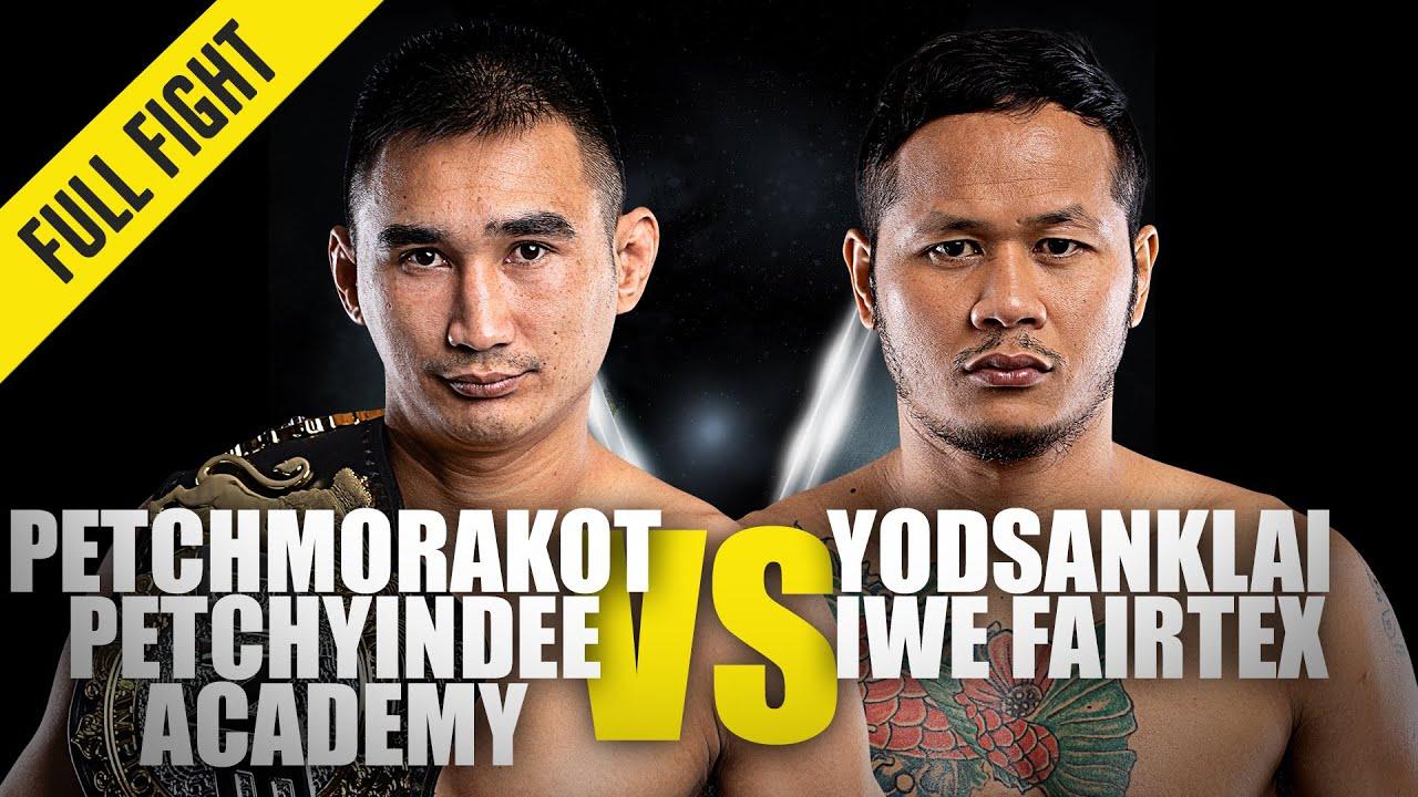 Petchmorakot vs. Yodsanklai   ONE Championship Full Fight