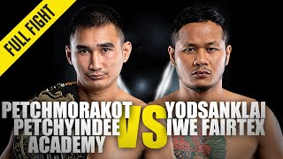 Petchmorakot vs. Yodsanklai | ONE Championship Full Fight
