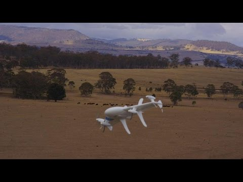 CNET News - Google experiments with drone deliveries
