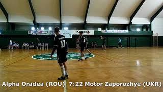 Handball. U17 boys. Sarius cup 2017. CS Alpha Oradea (ROU) - GK Motor (UKR) - 13:29 (2nd half)