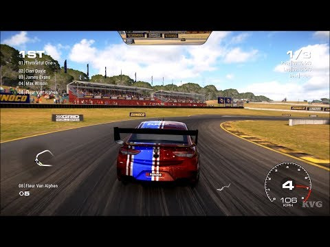 GRID (2019) - Sydney Motorsport Park (Gardner GP Circuit Reversed) - Gameplay (PC HD) [1080p60FPS] |