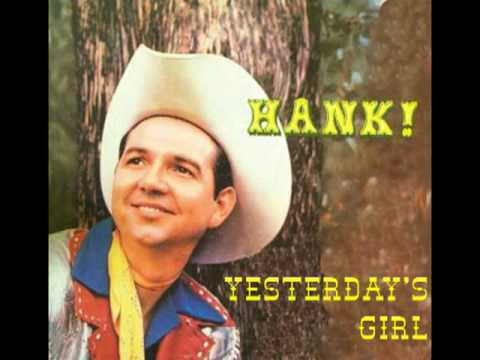 HANK THOMPSON - Yesterday's Girl