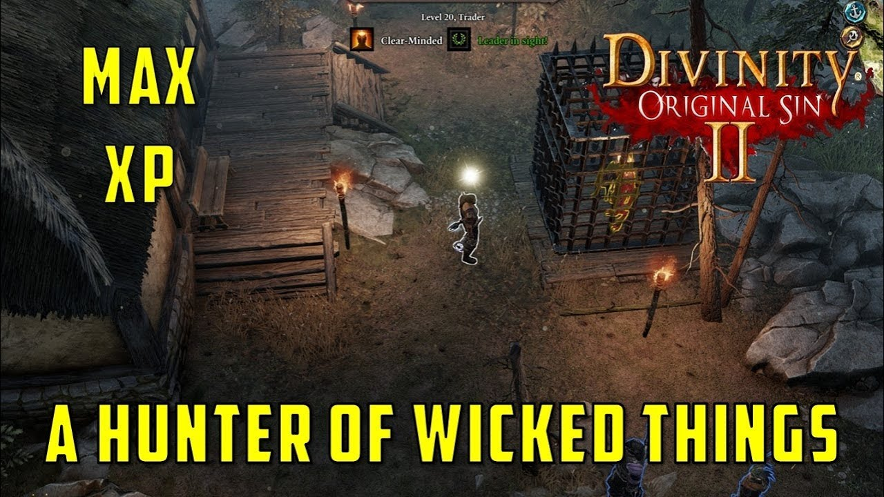 A Hunter of Wicked Things Quest (Divinity Original Sin 2