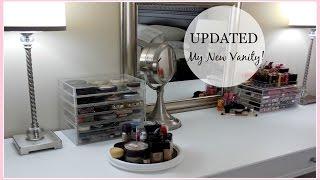 NEW Vanity & Makeup Organization