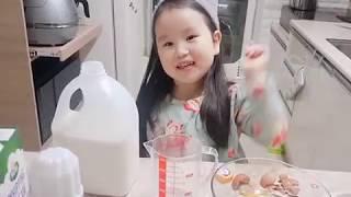 유치원생도 만드는 노오븐 딸기케이크 쿠쿠전기압력밥솥으로…