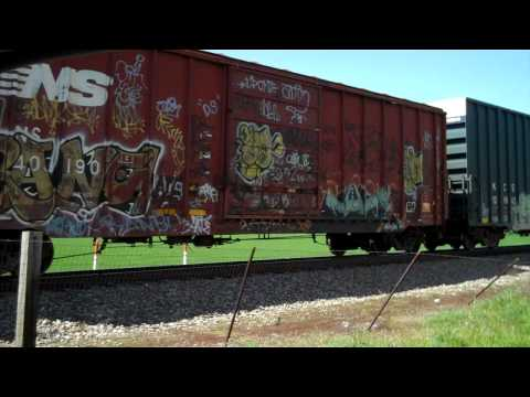 Train railroad crossing near my home in Eastern Pandhandle of West Virginia.MP4