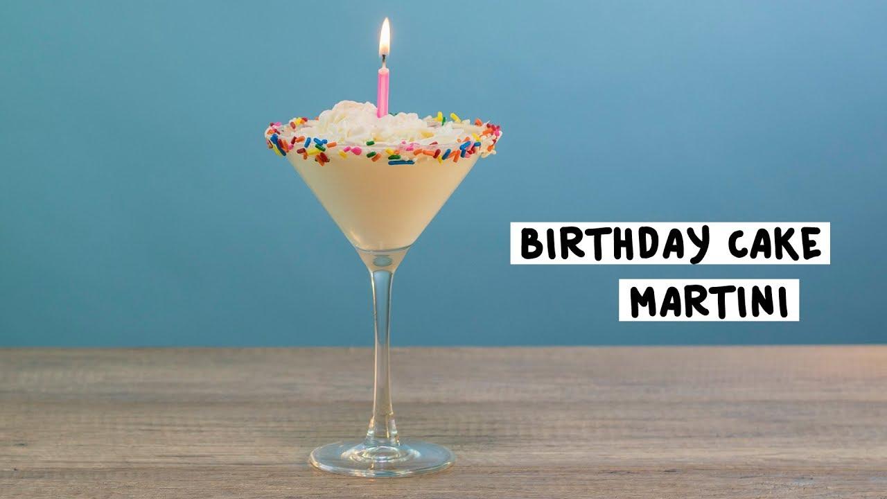 Birthday Cake Martini 1  Tipsy Bartender