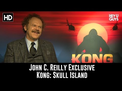 John C. Reilly Exclusive Interview - Kong: Skull Island