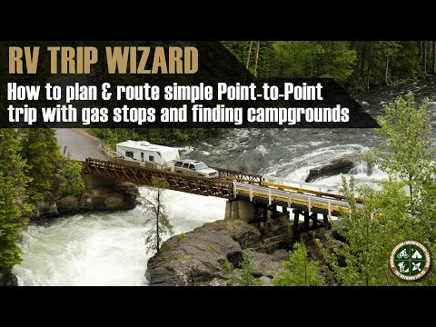 Planning your First Trip in RV Trip Wizard