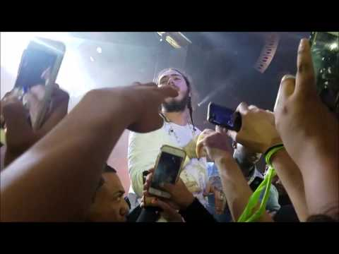 TOUCHING POST MALONE   FRONT ROW