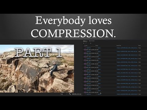 Terminology and Theory of Compressing Video and Audio: Everybody Loves Compression Part 1