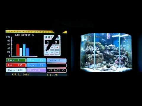 jarduino aquarium controller leds wave maker and more youtube