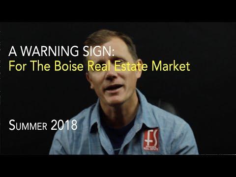 Danger Sign for Boise Housing Market