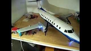 Embraer EMB-120 Brasilia RC SkyWest features
