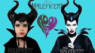 🧛♀️ Maleficent  Makeup and Dress UP!