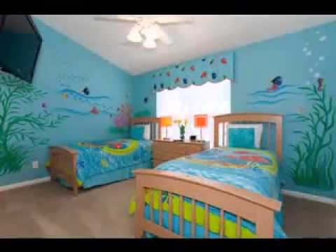 Finding nemo bedroom design decorating ideas youtube for Bedroom designs youtube