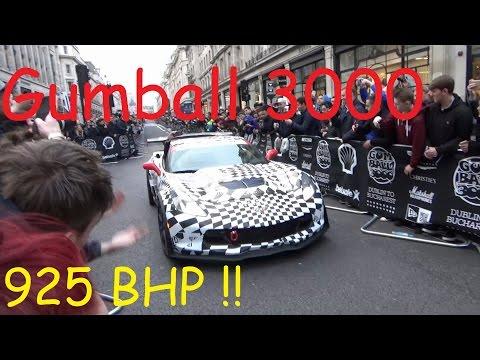 Gumball 3000 2016 Corvette C7 R 925 BHP !!! London