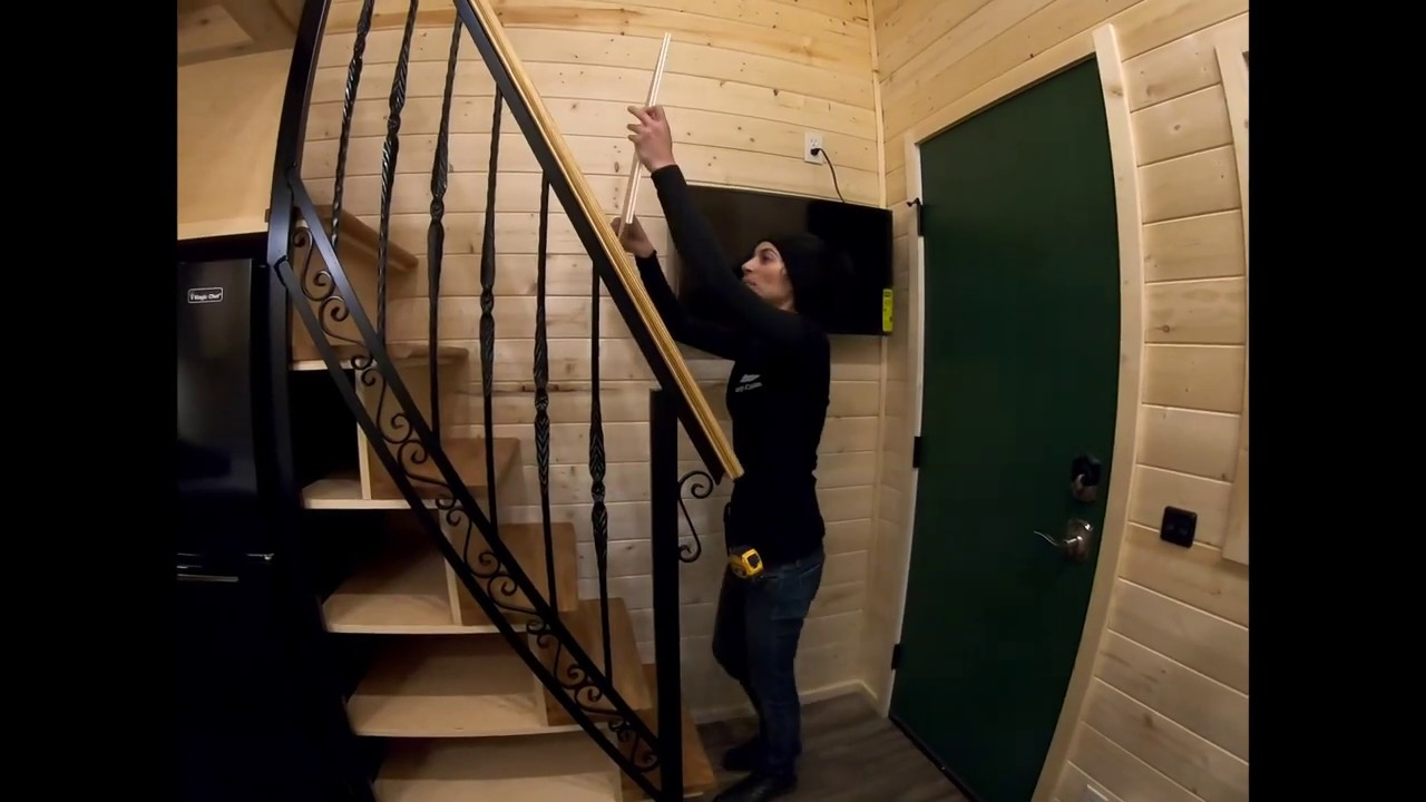 NFPA 1192 Stairway clearance & handrail guide lines, hosted by Arlin from  Liberty Cabin Tiny homes