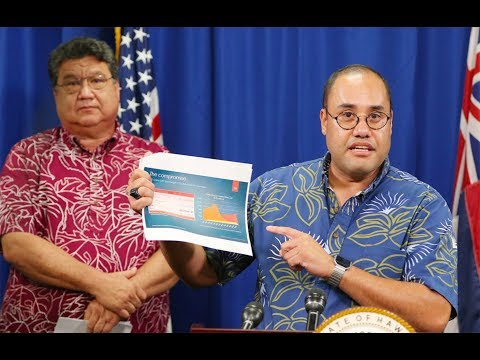 Hawaii Legislature Honolulu Rail Project Special Session Press Conference