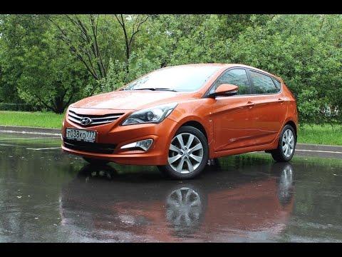 Hyundai Solaris Hatchback Оранжевый хит