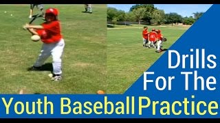 How To Set Up Baseball Drills For The Little Boppers