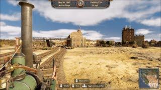Railway Empire - North America 2-4-0 (1833) - Test Ride Gameplay (PC HD) [1080p60FPS]