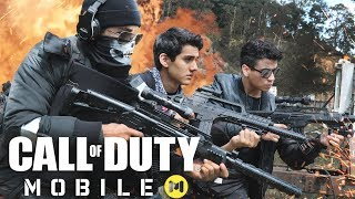 CALL OF DUTY MOBILE EN LA VIDA REAL! - COD LA PELÍCULA - Changovisión - (La película, Parodia)