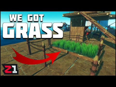 BIG Island ! Warthog, Dirt, Puffer Fish And MORE ! Raft Update   Z1 Gaming