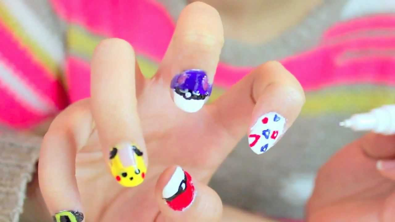 Nail Designs For Back To School