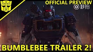Transformers Bumblebee(2018) Trailer#2 Official Preview